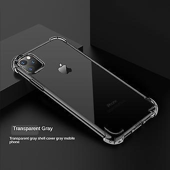 Iphone12mini (5,4 pouces) Étui pour téléphone portable Airbag à quatre coins Anti-chute Apple Housse de protection transparente tout compris