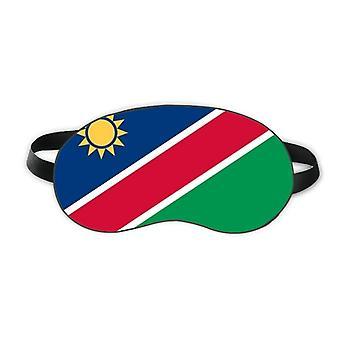 ناميبيا العلم الوطني أفريقيا البلد النوم درع العين