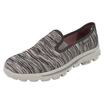 Wsuwane buty damskie Skechers na co dzień pompy niejasne 13791