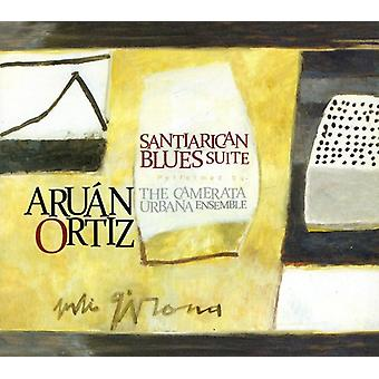 Aruan Ortiz - Santiarican Blues Suite [CD] USA import