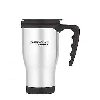 Thermos Thermocafe Stainless Steel 2060 Hot and Cold Travel Mug 450ml