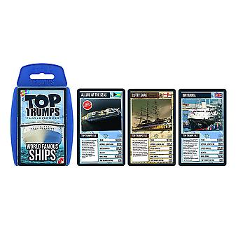 Top Trumps - World Famous Ships Card Game