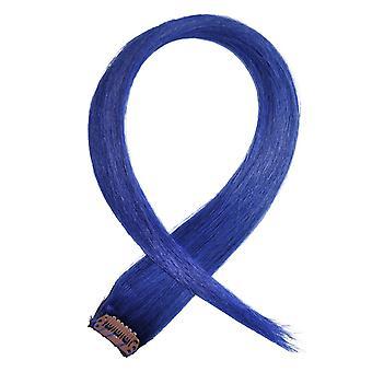 Niebieski - kosmyków włosów Clip-in
