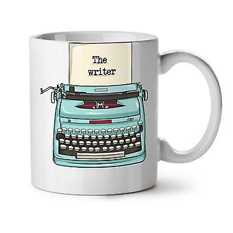 Texter neuer weißer Tee Kaffee Keramik Becher 11 oz | Wellcoda