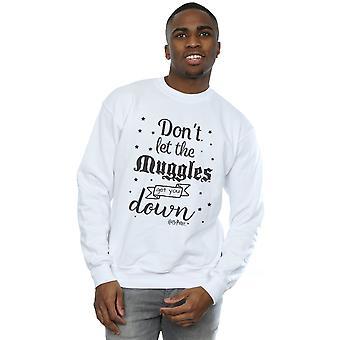 Harry Potter Männer lassen Sie nicht die Muggel-Sweatshirt