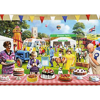 Falcon Deluxe The Baking Fair Jigsaw Puzzle (1000 Pieces)