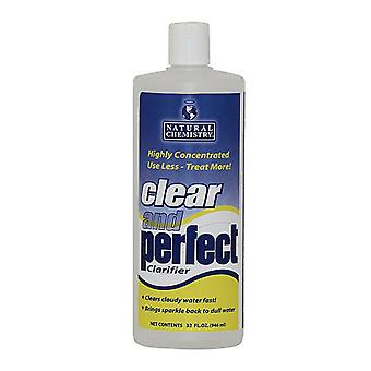 Natural Chemistry 03500 Clear & Perfect 32oz Pool Water Clarifier