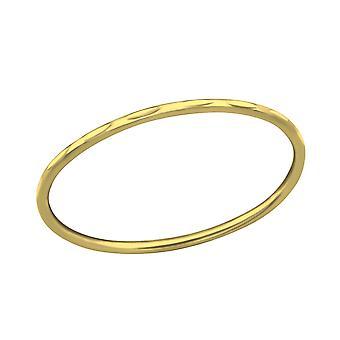 Mønstret - 925 Sterling Silver ren ringer - W35096x