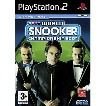 World Snooker Championship 2007 (PS2) - New Factory Sealed