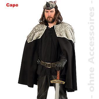 Barbarerne Cape kostume Herre Viking kappe hr. kostume
