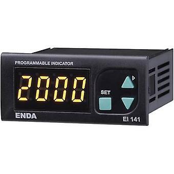 Enda EI141-230 SW Digital rack-mount meter Universal LED display El141 0 - 20 mA/4 - 20 mA/0 - 1 V/0 - 10 V