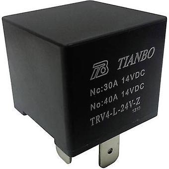 Tianbo Electronics TRV4 L-24V-Z Automotive relay 24 V DC 1 change-over
