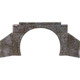 Busch 8841 N, TT Tunnel portal 2-track Assembled