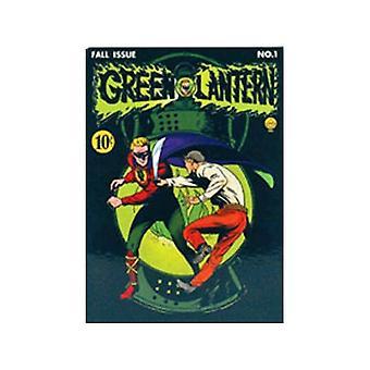 Green Lantern dække Køleskabsmagnet