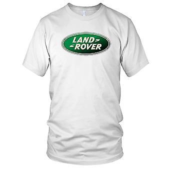 Land Rover Logo - klassisk 4 x 4 Offroad Landy Mens T skjorte