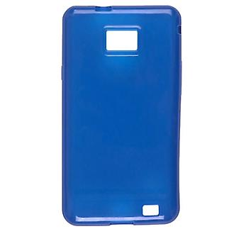 Wireless Solutions Dura-Gel Case for Samsung Galaxy S II SGH-i777 - Blue