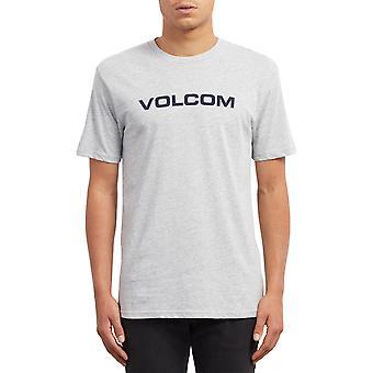 Volcom Crisp Euro Lyhythihainen T-paita Heather harmaa