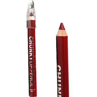 Technic Chunky Thick Lip Liner Pencil Bright Red