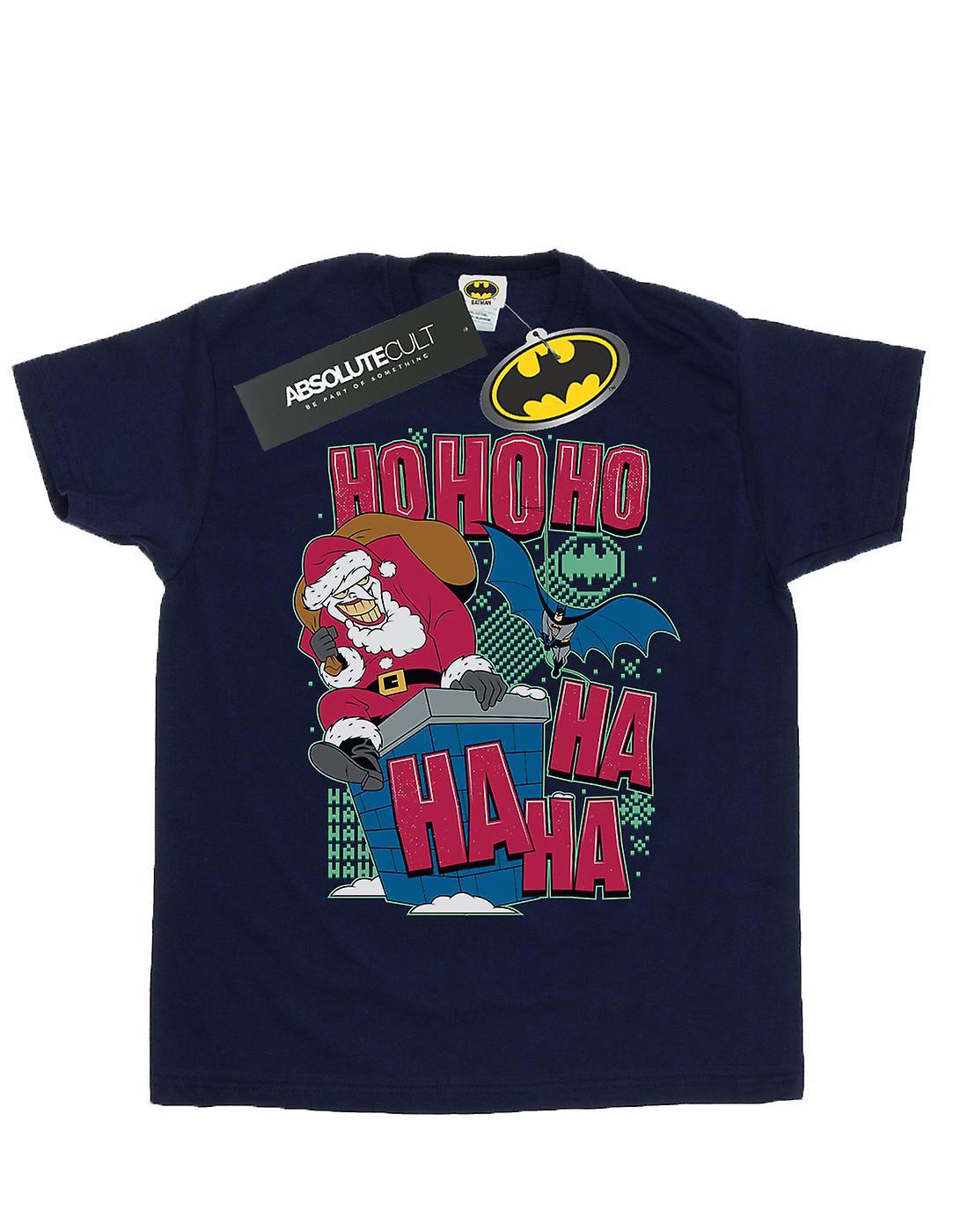 DC Comics Girls Batman And Joker Ha Ha Ha Ho Ho Ho T-Shirt