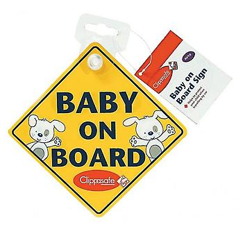 Clippasafe Baby on Board / Child on Board Sign