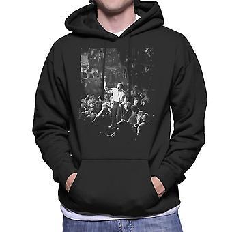 TV tider Jerry Lee Lewis Live Mäns Hooded Sweatshirt