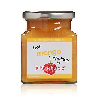 Jules and Sharpie Hot Mango Chutney