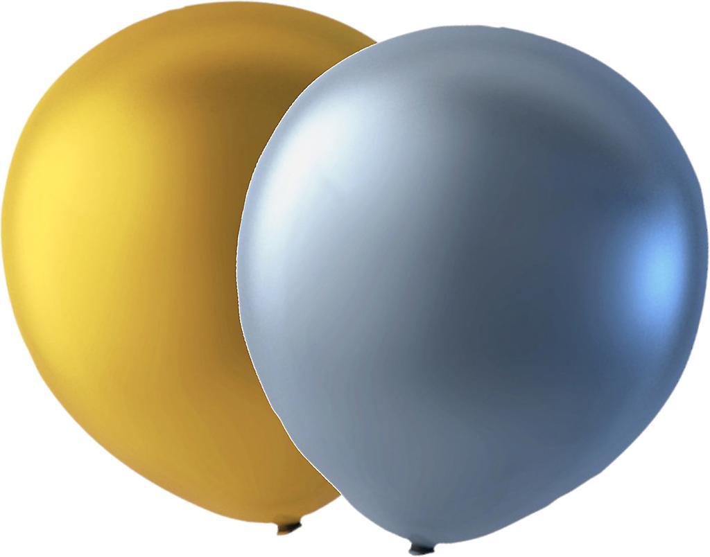 24-pack Guld/silver Ballonger