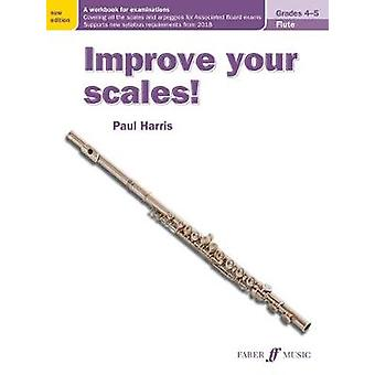 Improve your scales! Flute Grades 4-5 by Paul Harris - 9780571540518