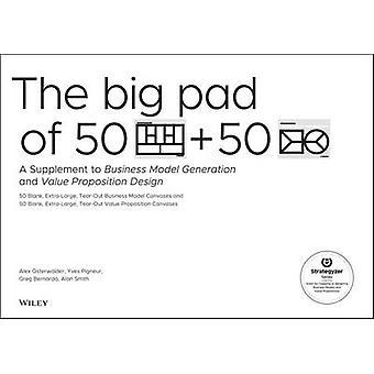 Das große Pad 50 Blank - Extra-Large Business Modell Leinwände und 50