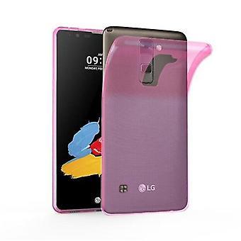 Cadorabo geval voor LG STYLUS 2 gevaldekking-mobiele telefoon geval gemaakt van flexibele TPU silicone-silicone geval beschermende case ultra slanke zachte terug Cover Case bumper