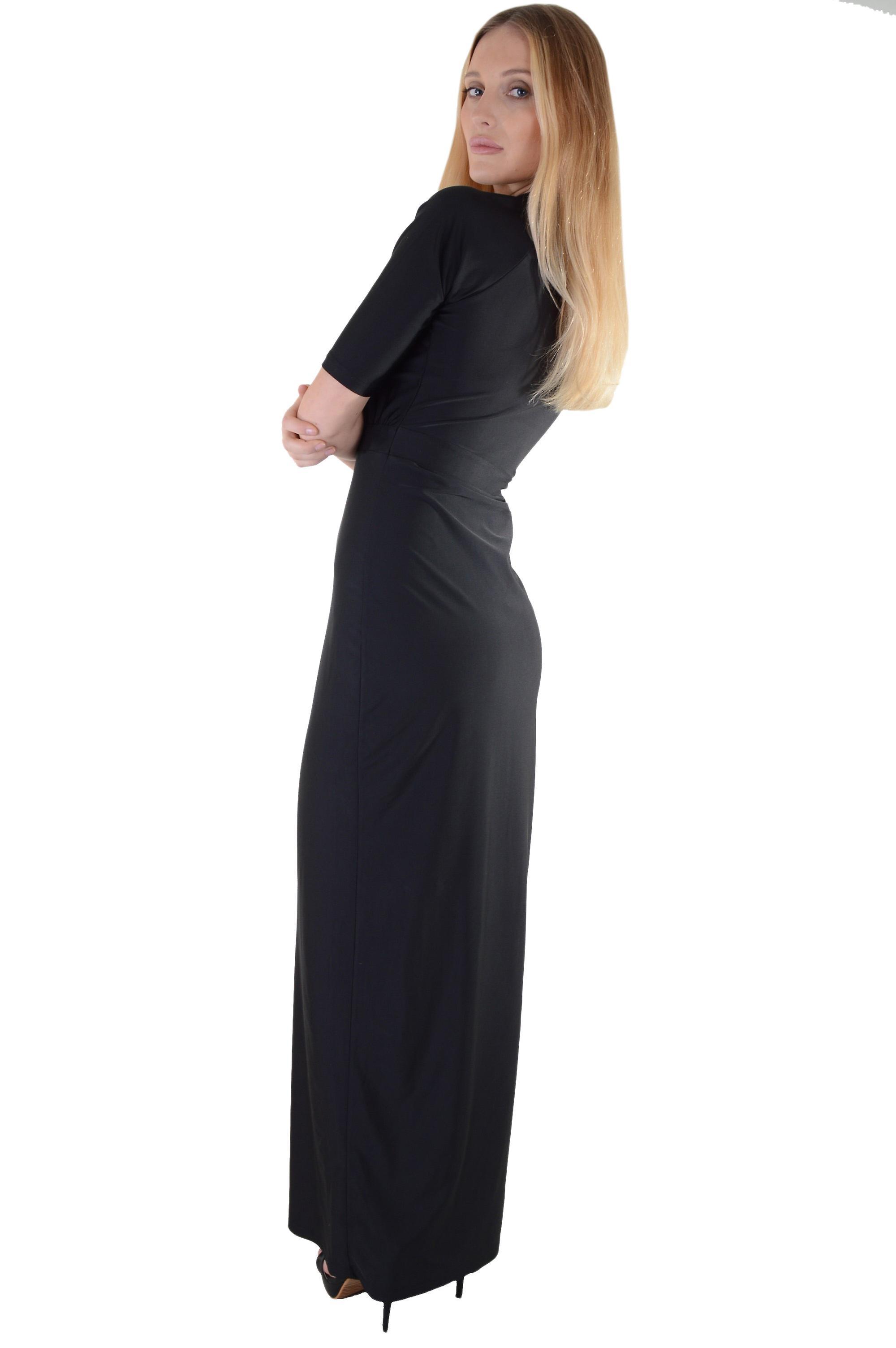 Lovemystyle Slinky Maxi kjole med topp-A-Boo og Split