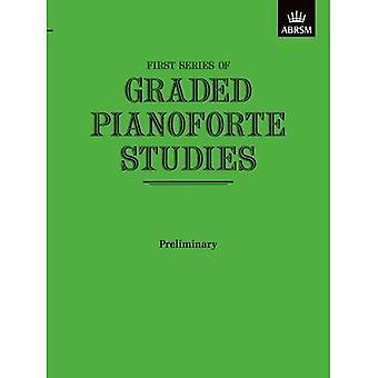 Wstępne badania, pierwszej serii, stopniem Pianoforte (stopniem Pianoforte badania (ABRSM))