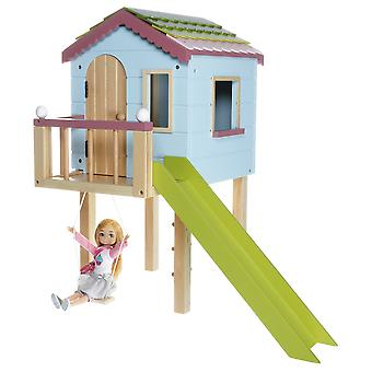 Lottie Wooden Dollhouse Treehouse