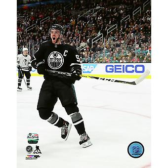 Connor McDavid 2019 NHL All-Star Game Photo Print
