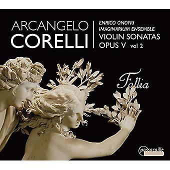 Corelli / Onofri / Imaginarium Ensemble - Arcangelo Corelli: Violin Sonatas 2 [CD] USA import