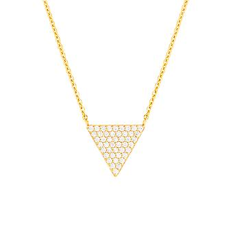 Bertha Sophia Collection Women's 18k YG Plated Fashion Necklace