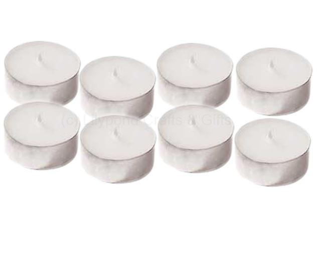 Plain Unscented Tealights Packed 8's