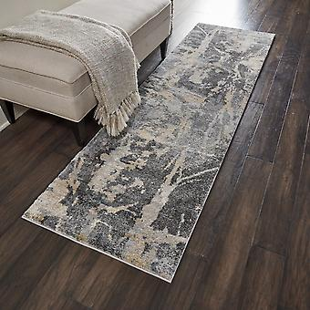 Fusion Nourison FSS10 Grey  Rectangle Rugs Traditional Rugs