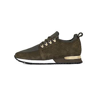 Mallet Khaki Suede Hiker Sneaker