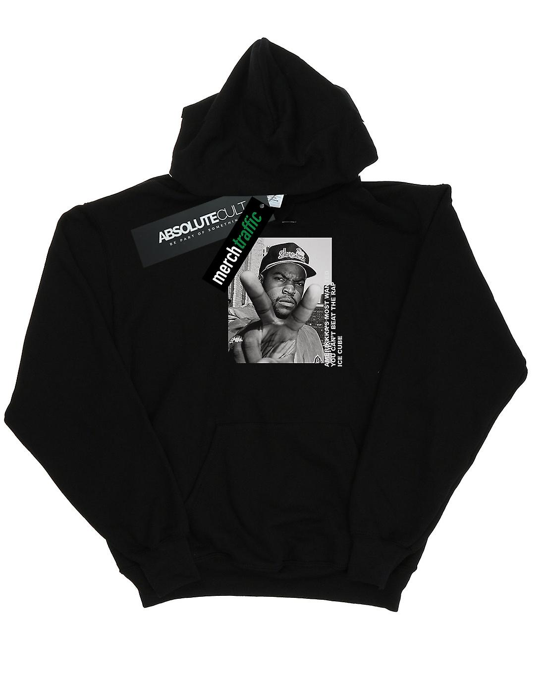 Ice Cube Men's Peace Sign Hoodie