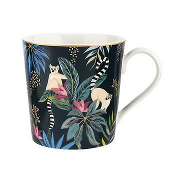 Sara Miller Tahiti Mug, Lemur