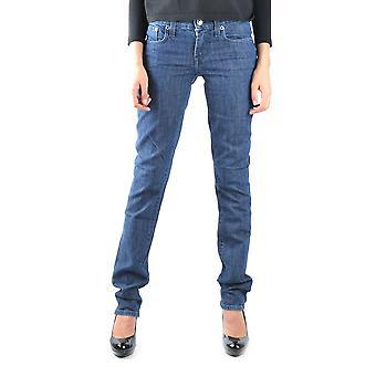 Ralph Lauren Ezbc037020 Kvinder's Blue Cotton Jeans