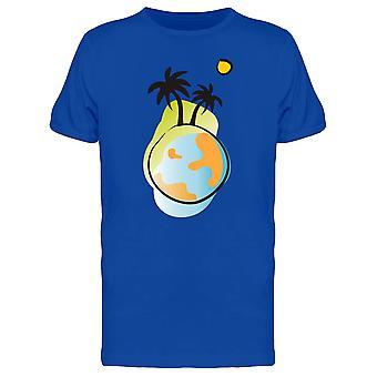 Earth, Palms & Sun Tee Men's -Image by Shutterstock