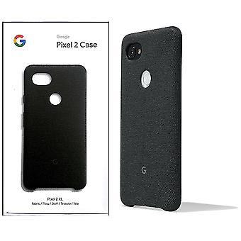 Virallinen Google Pixel 2 XL -kangaskotelon kansi GA00167 - Carbon Black