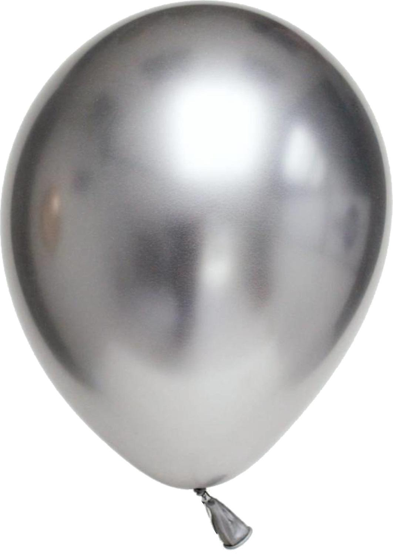 Ballonger 24-pack Chrome - Silver - 30 cm (12
