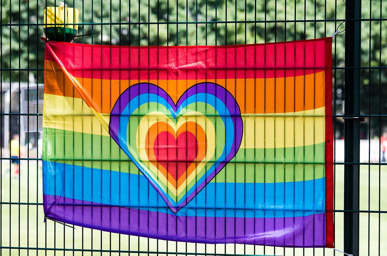 Rainbow Love Pride-bandeira do arco-íris 90x150 cm