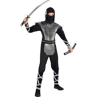 Wolf Ninja Child and Teen Costume