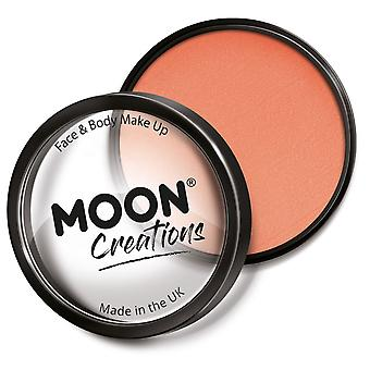 Moon Creations - Pro Face & Body Paint Cake Pots - Apricot