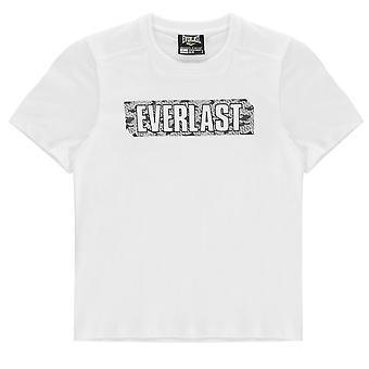Everlast Kids Boys Graphic T Shirt Junior Crew Neck Tee Top Short Sleeve Cotton