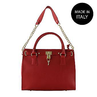 Handväska i läder 80040
